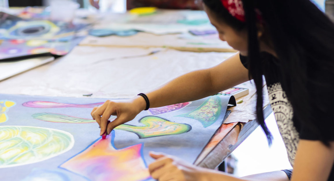 Arts Umbrella Advanced Art & Design Classes