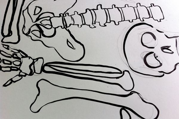 how-to-skeleton-outline