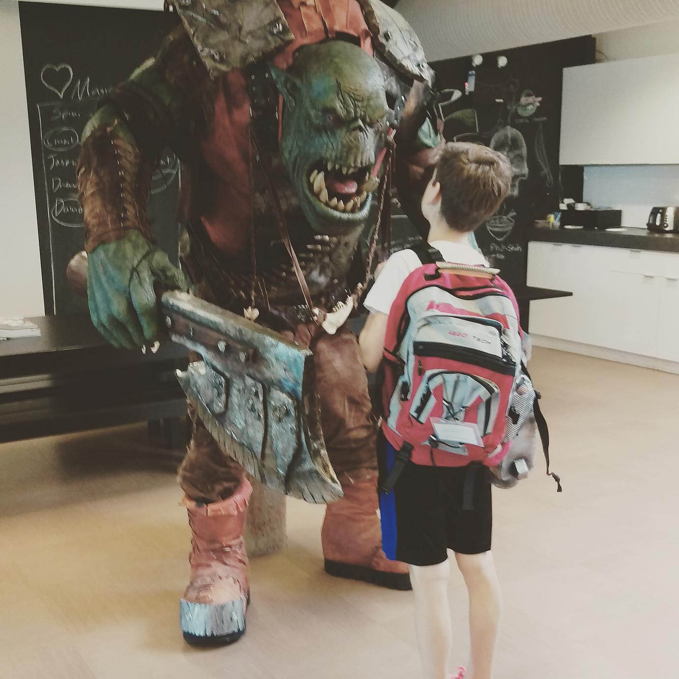 Orcs aren't that scary...