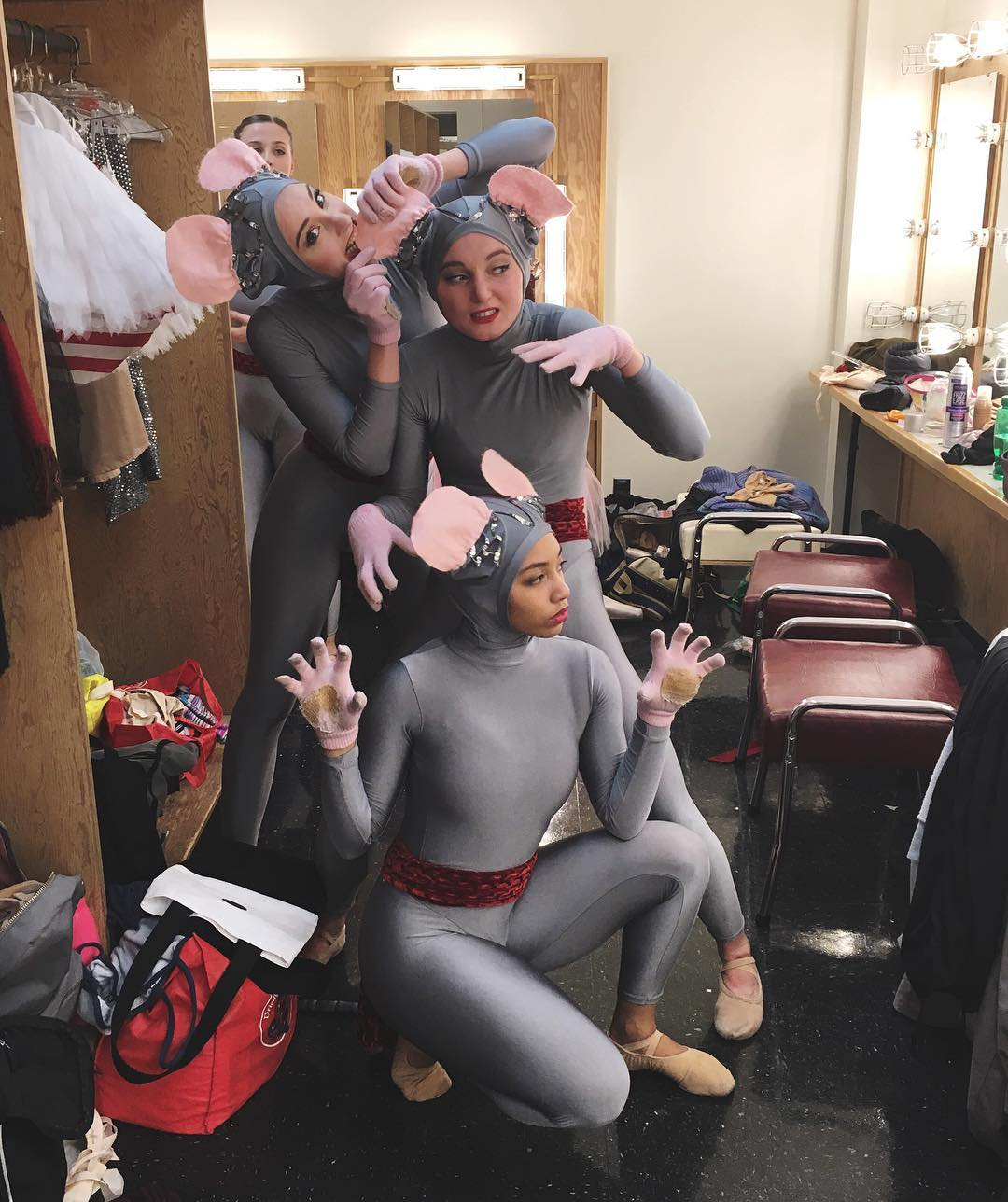 Behind the scenes with some of our mice. Photo by @kierra_kelp