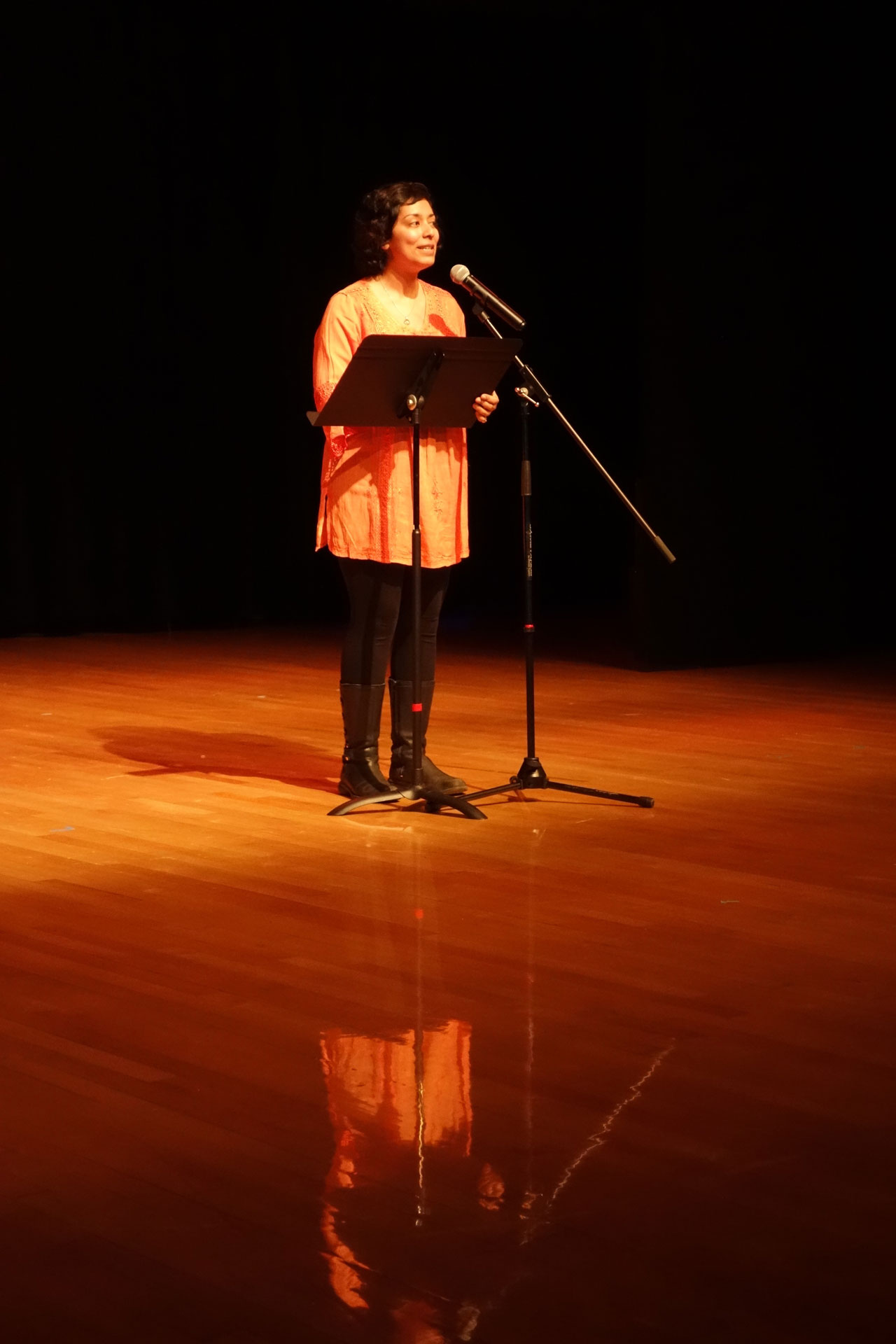 Poetry readings by Arts Umbrella staff Sonay Cheema