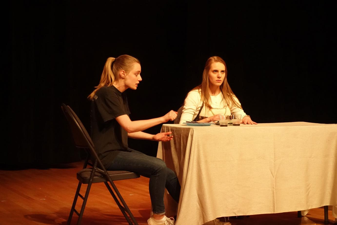 The Odd Couple (female version) by Neil Simon, performed by Alumni Celia Beketa and Anja Savcic