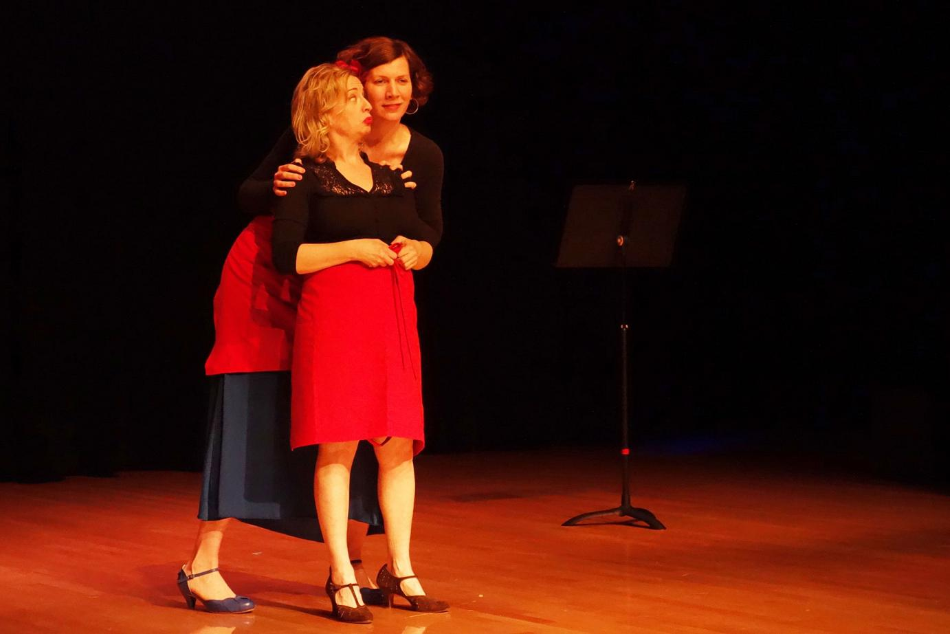 Ways to Woo Enrique, written and performed by Arts Umbrella instructors Jackie Blackmore, Cathy Falkner, Laura Jaszcz, and Junior Theatre Troupe Director Susanne Moniz de Sa