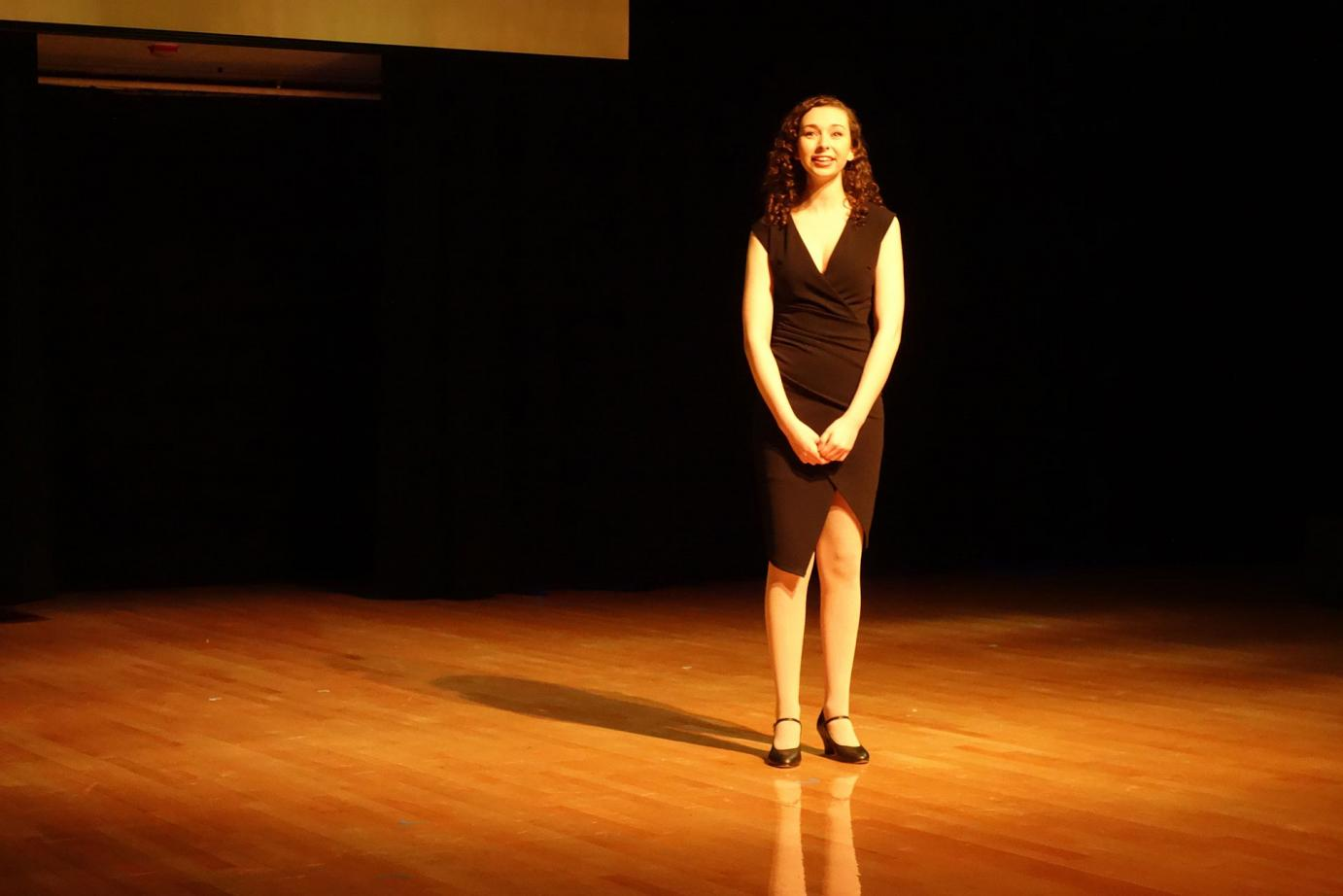 They Were You, from Fantastiks, performed by alumna Katherine Matlashewski accompanied by Patrick Ray