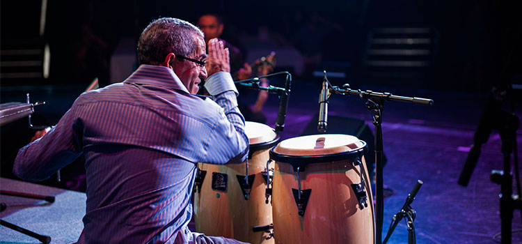 Sal Ferreras presents Drum Heat, in support of Arts Umbrella