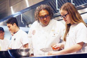 Arts Umbrella Teen Culinary Workshop with Vikram Vij