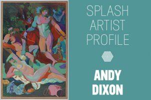 Andy Dixon Arts Umbrella Splash