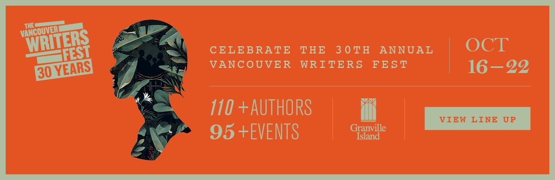30th annual Vancouver Writers Fest