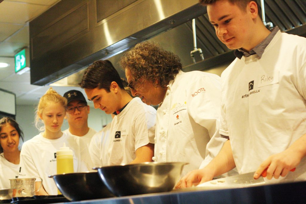 Culinary Arts workshop with Vikram Vij
