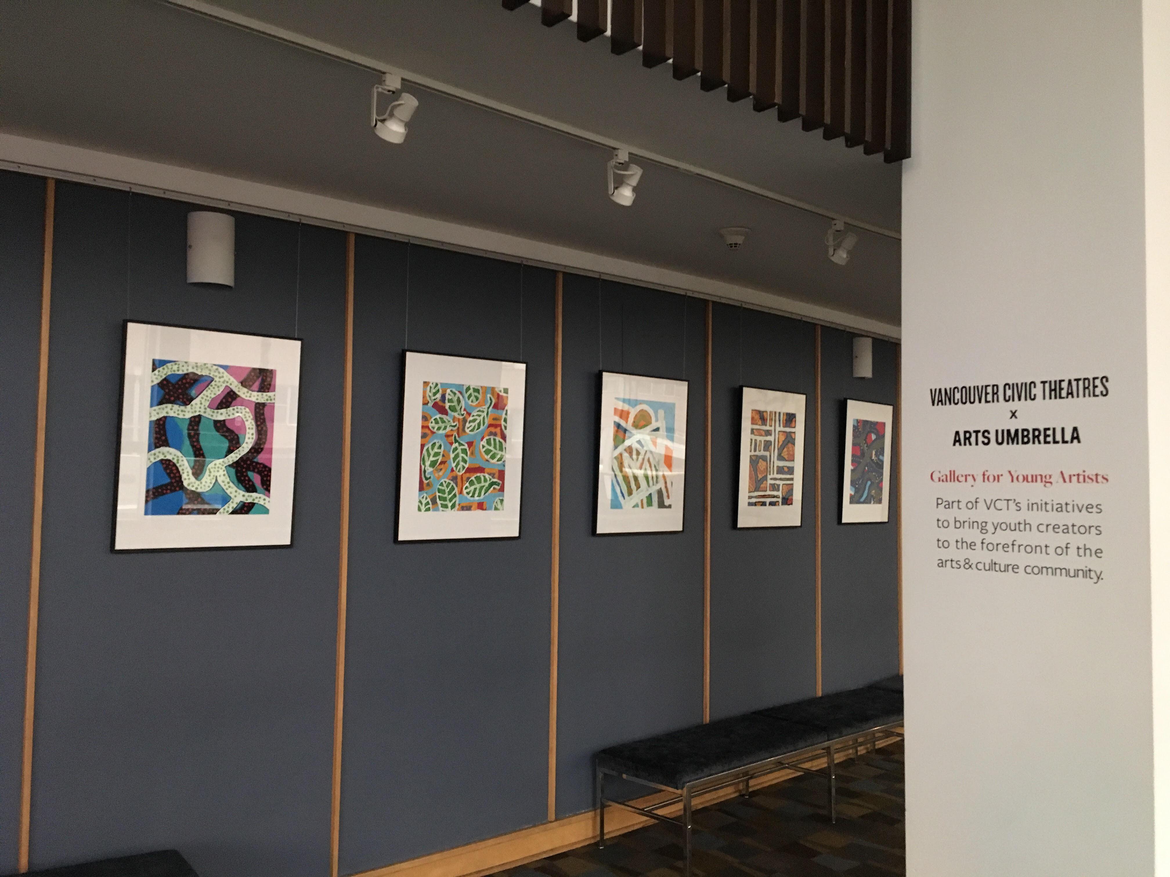 Arts Umbrella exhibit