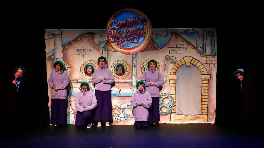 Arts Umbrella presents Charlie and the Chocolate Factory, photo by Tim Matheson