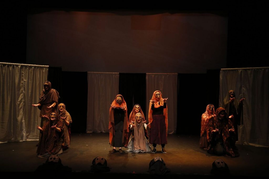 "Arts Umbrella Expressions Theatre Festival presents ""The Phoenician Women"" (Photo by Tim Matheson)"