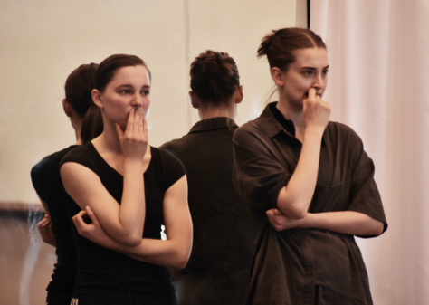 Choreographers Anna Bekirova and Sophie Whittome. Photo by Meilyn Kennedy