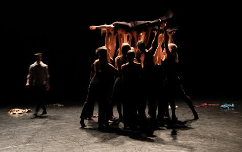 "A scene from ""be"" by Sophie Mueller-Langer and Dex Van Ter Meij. Photo by Marie Lee"