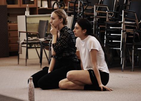 Choreographers Sophia Shaw and Jordan Pelliteri. Photo by Meilyn Kennedy