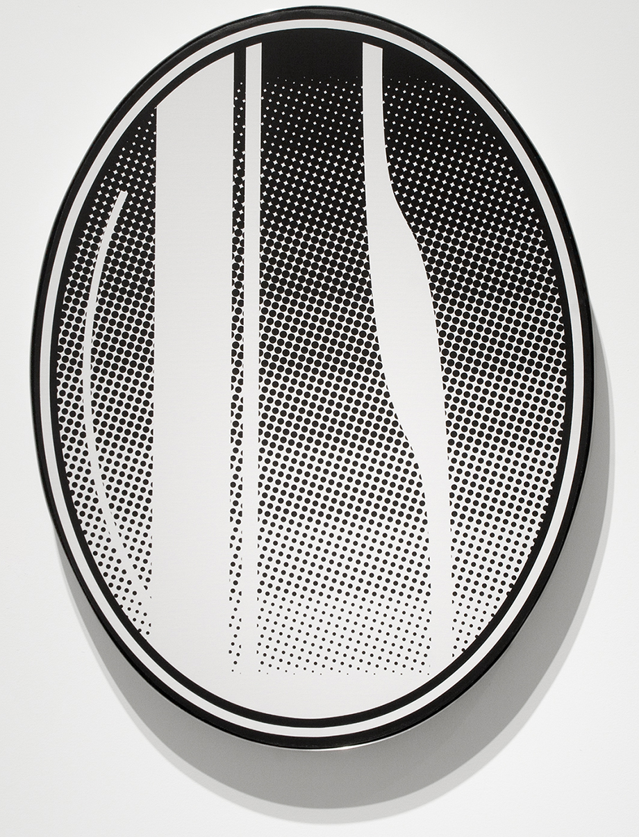 Oval Mirror No. 2, 2013