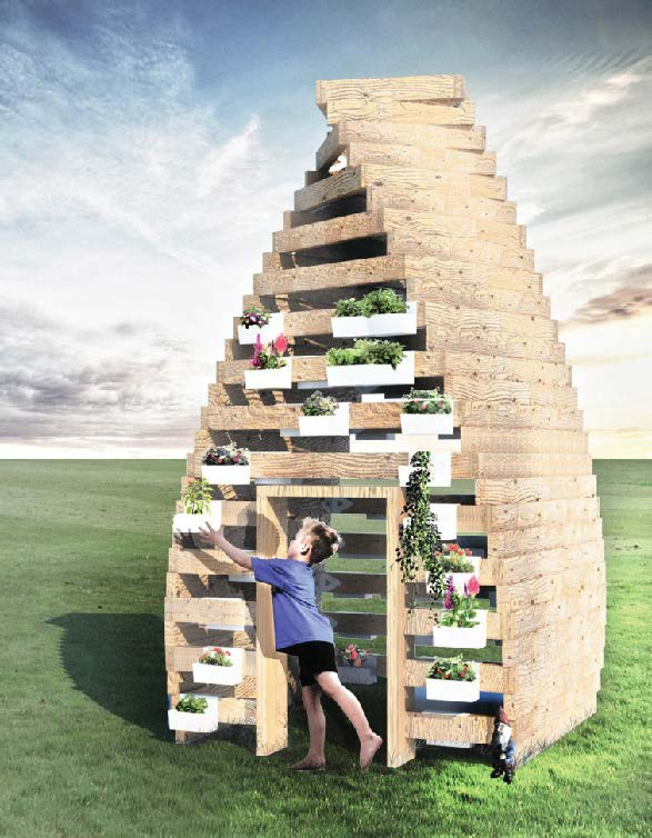 Grow! A Food PlayHouse, Ekaterina Dovjenko
