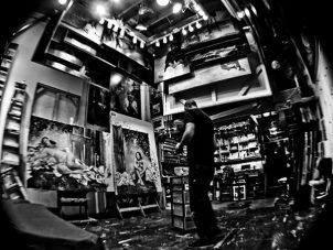 Jay Senetchko artist studio