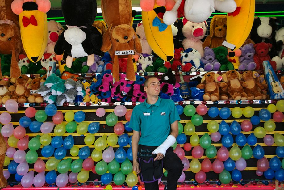 Balloon Game, Pacific National Exhibition, Vancouver, 2010
