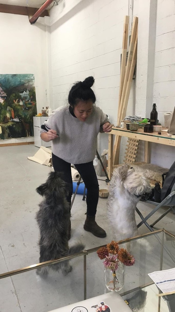 Michelle Nguyen studio
