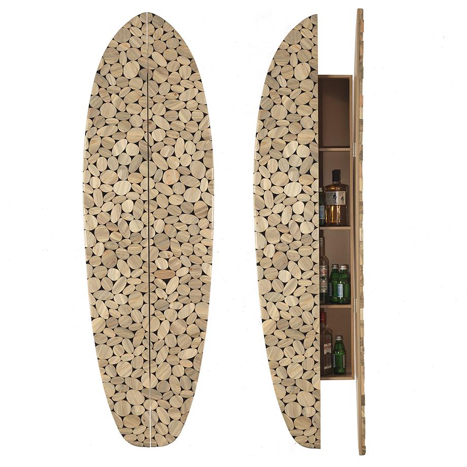 Pine Beetle Surf Cabinet, 2019