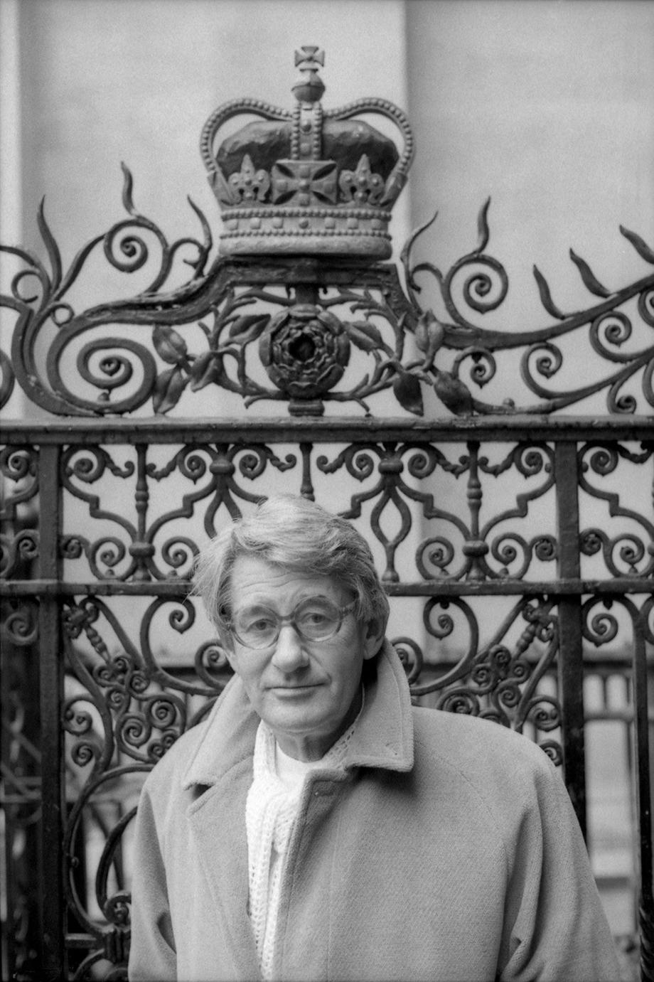 Helmut Newton, London, 1988