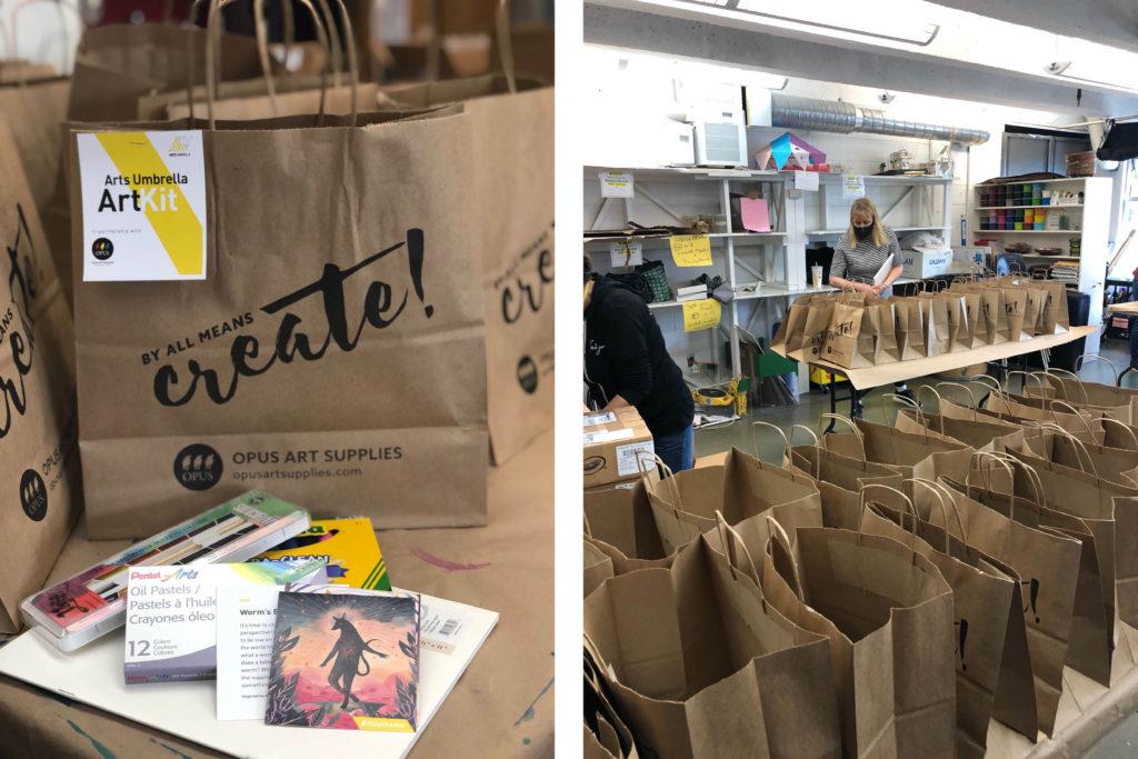 Arts Umbrella Community Art Kits