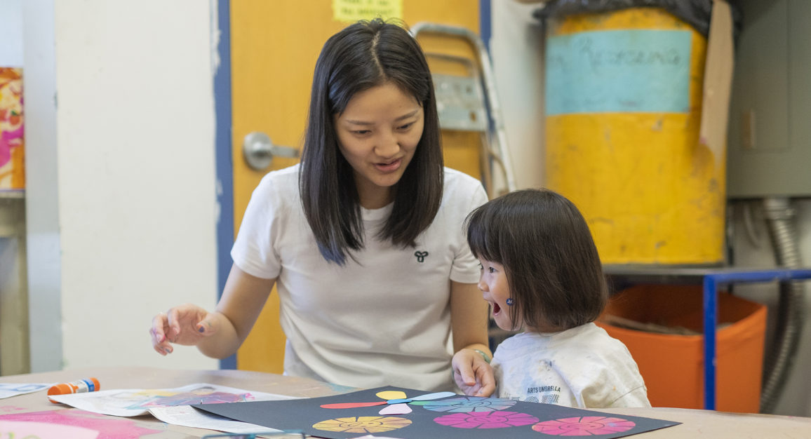 Parent & Me classes at Arts Umbrella