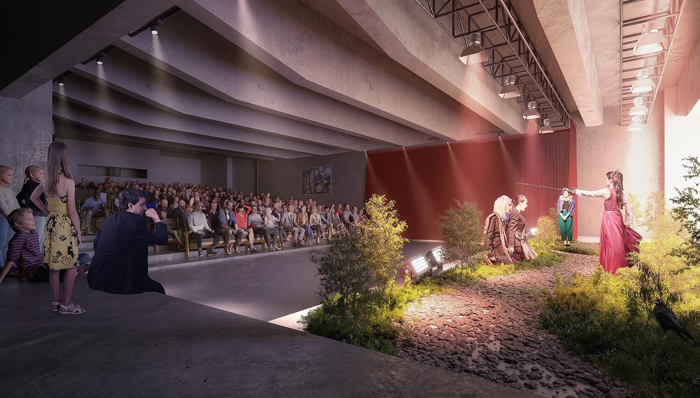 Jack Poole honoured through naming of theatre in new Arts Umbrella building