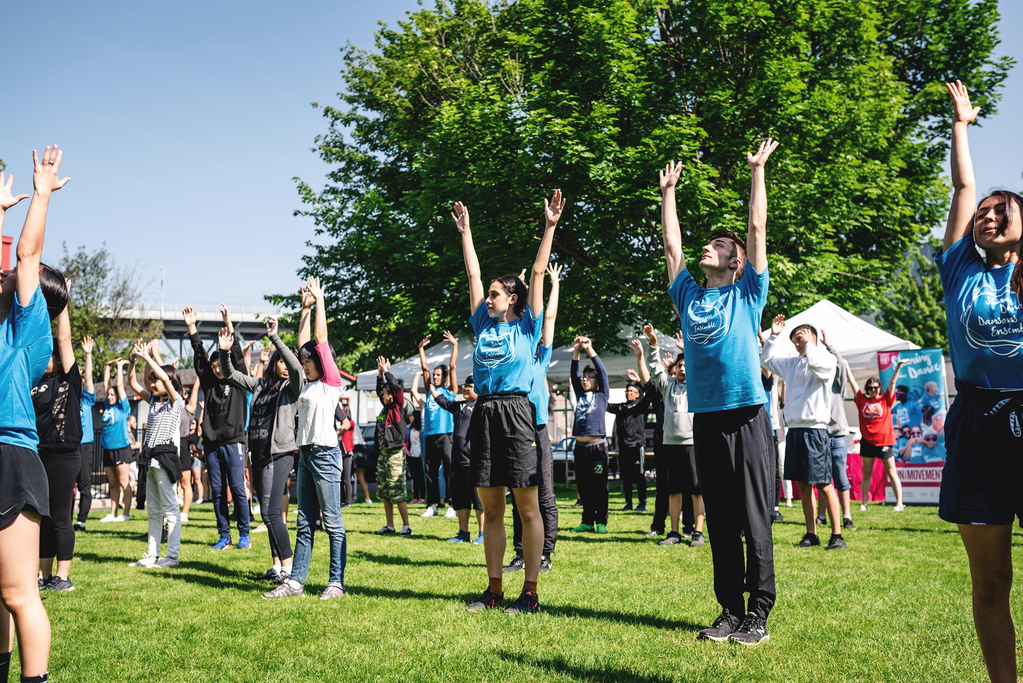 Arts Umbrella Dance, Sharing Dance Day